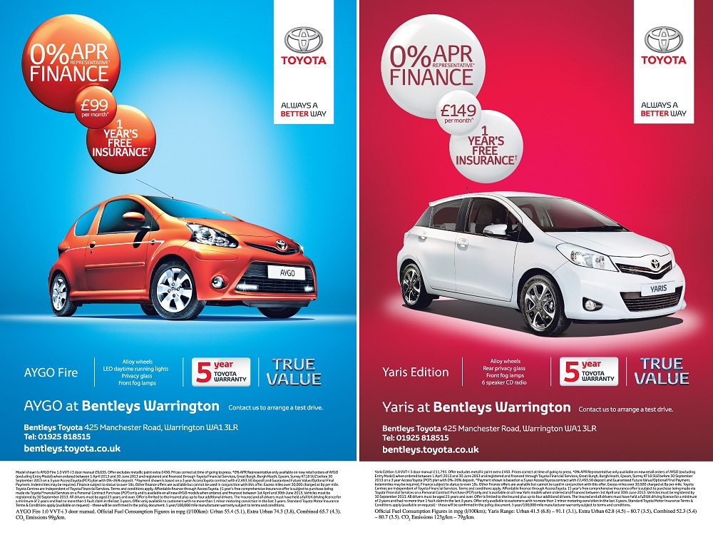 Bentleys Motor Group - 6 Sheet