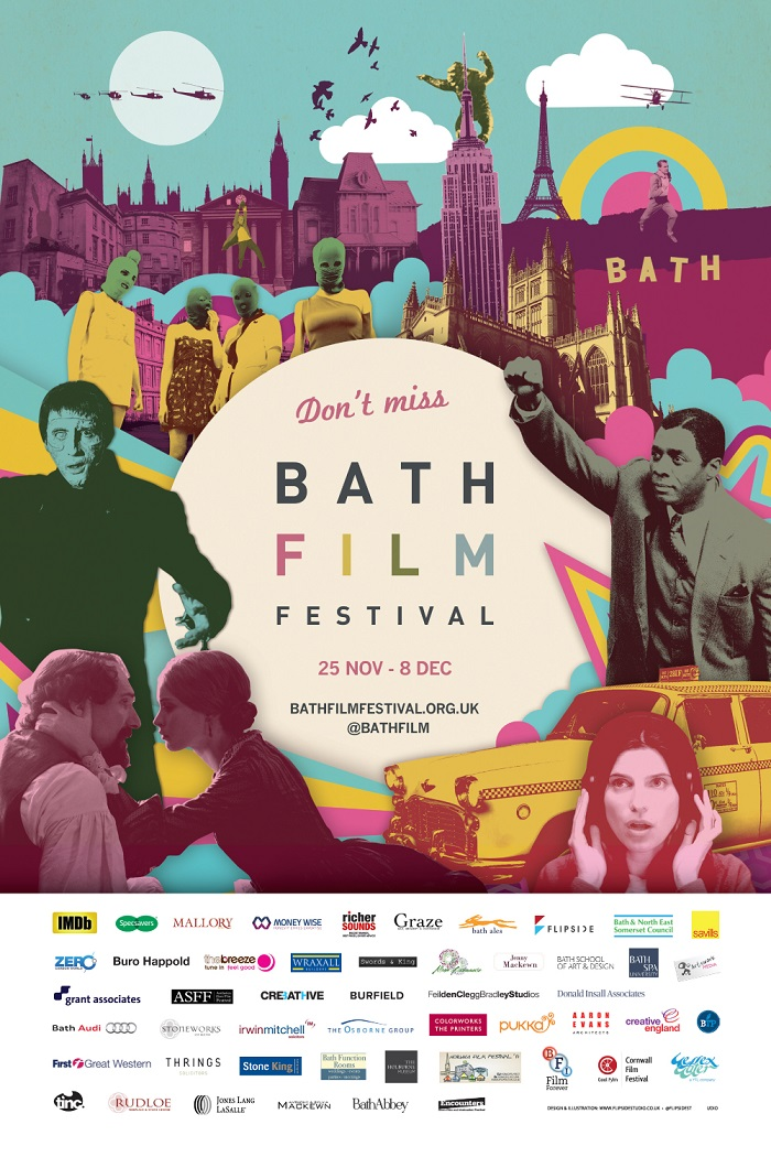 "Sheet Film Festival ""bath Film Festival"" Title"