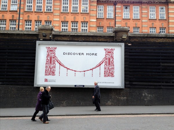 Out Of Home International - University of Bristol - Outdoor Billboard