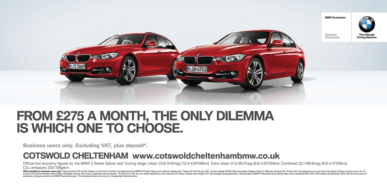 BMW Cotswold- 48 Sheet Billboard