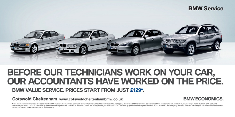 BMW Cheltenham - 48 Sheet Billboard
