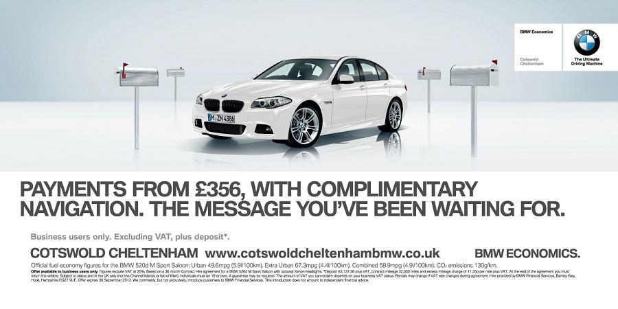 BMW - Cotswold Cheltenham - Billboard