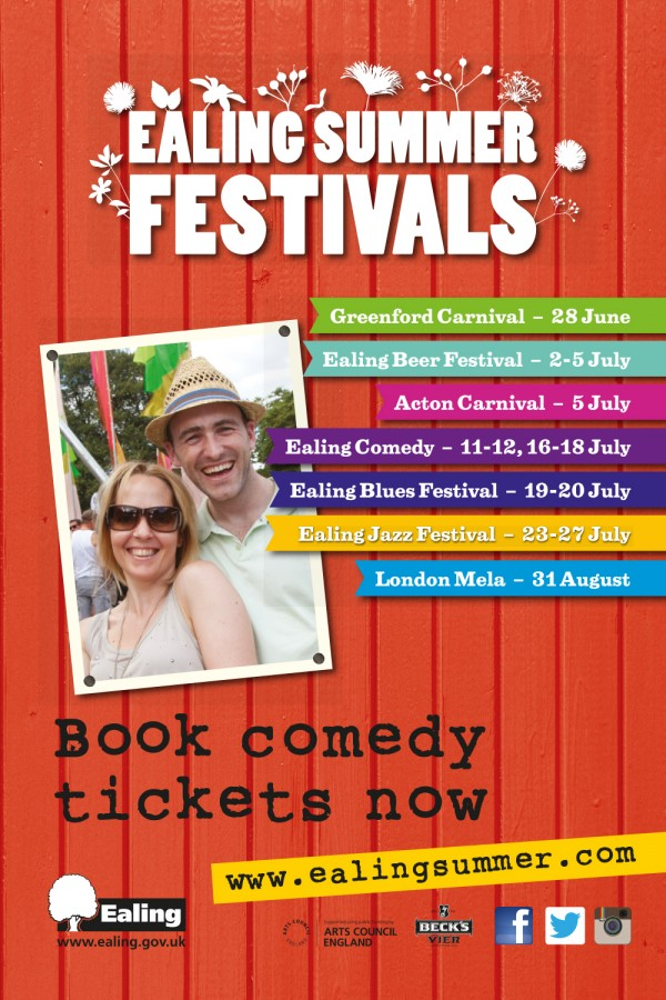 ealing festival 6 sheet billboard