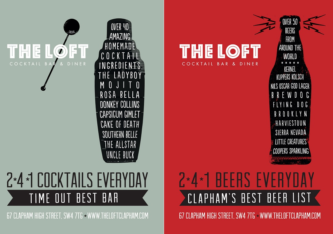 The Loft Campaign -  Lift Escalator Panels