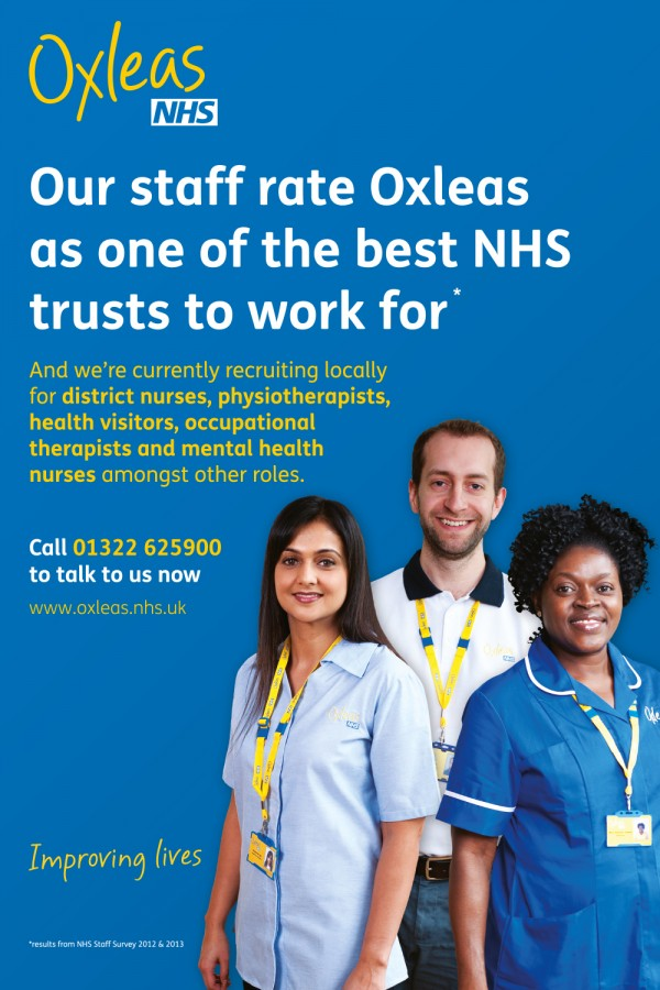 NHS Oxleas foundation 6 sheet