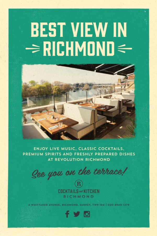 Bar Company Richmond Rail Staion 6 sheet