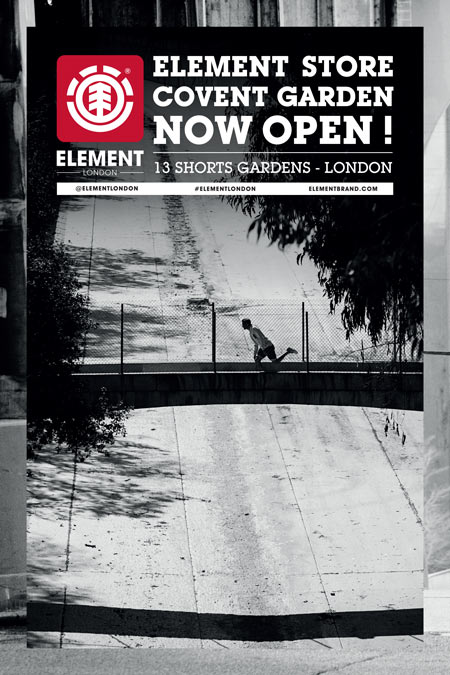 Element London Advertisement